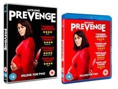 Alice Lowe's PREVENGE is out on DVD, Blu-RayWithGuitars
