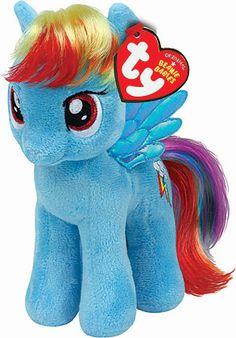 Rainbow Dash Beanie - My Little Pony Soft Toy My Little Pony Plush 3941040f6959