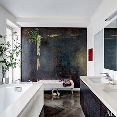 Before + After Bathroom Makeovers Photos   Architectural Digest