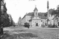 Rókus kápolna és Kórház 1905 Budapest Hungary, Cathedral, History, City, Building, Travel, Archive, Vintage, Belle Epoque