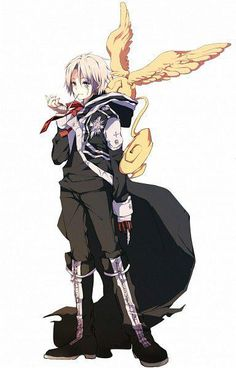 Allen Walker (アレン・ウォーカー), Moyashi (Bean Sprout, Kiełek fasoli), The Destroyer of time, Baka Deshi (Idiot Apperentice) | D.Gray-man (ディー・グレイマン), D.Grey-man, DGM