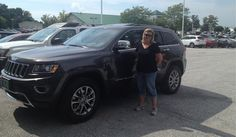 Angela's new 2015 JEEP GRAND CHEROKEE! Congratulations and best wishes from North Country Nissan and LOUIS YOUNG.