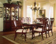 Queen Anne Cherry Wood Dining Table  Oval Table Queen Anne And Fascinating Queen Anne Dining Room Set Inspiration