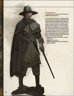 Archetype: Witch Hunter