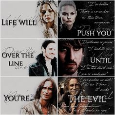 Colin O'Donoghue - Killian Jones -Captain Hook - Jennifer Morrison - Emma Swan - Captain Swan - Once Upon A Time Captain Swan, Captain Hook, Dark Disney Art, Swan Quotes, Teen Wolf Quotes, Once Up A Time, Dark Swan, The Dark One, Killian Jones