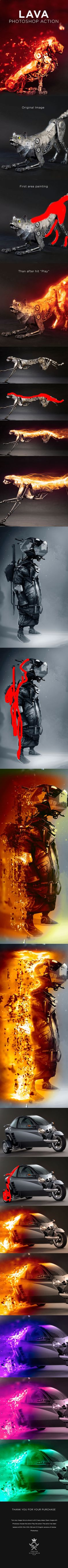 Lava #Photoshop Action - Photo Effects Actions Download here: graphicriver.net/...