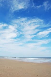 sand, sea, sky..... what could be better?