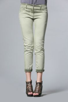 Stretch Denim Washed Pant: $170  Got it and loving it!