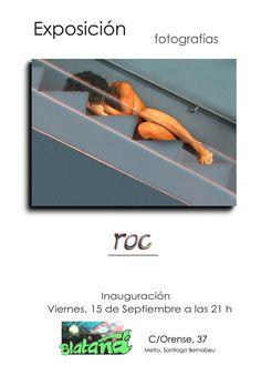 Cartel de la primera exposición de fotos que hice al volver a Madrid. ¡Es lo que tiene hacer ordén!