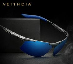 VEITHDIA Brand Summer New Aluminum Rimless Mens Polarized Sunglasses Sun  Glasses Eyewear oculos de sol masculino For Men c1b73c6752