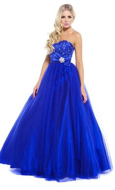 A classic tulle ball gown from Ruby Prom.
