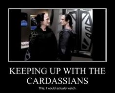 """For an awkwardly long time I thought people were suddenly into Star Trek, but not enough to correctly pronounce """"Cardassian""""."""