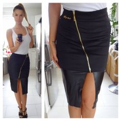 Sugarbird Waist Skirt, High Waisted Skirt, Work Chic, Business Casual, Pretty, Skirts, Outfits, Style, Fashion