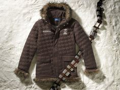 "Star Wars X Adidas ""Wookie"" Jacket!!  Hey Nike, you just got OWNED!!"