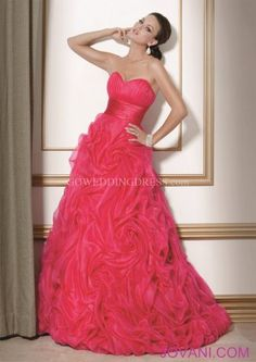 Ball Gown Sweetheart Empire Floor Length Evening Dress. Perfect for a Quincanera. :)