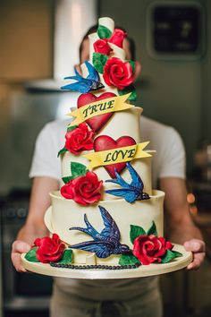 Cakes - Inspired by Tattoo Art | Inked Magazine