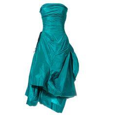 Vivienne Westwood - Vivienne Westwood Silk Evening Dress ...fashion.1stdibs...Love :)