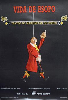 Vida de Esopo. Teatro de Marionetas do Porto [Material gráfico]