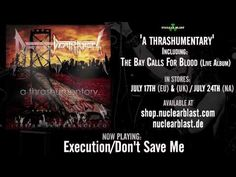DEATH ANGEL - Execution Don't Save Me (OFFICIAL LIVE TRACK) - YouTube