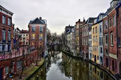 A university town, Utrecht is situated in the heart of Holland and is one of the oldest Dutch cities. Utrecht, Rotterdam, Oh The Places You'll Go, Places To Visit, Day Trips From Amsterdam, Hotel Amsterdam, Exotic Places, World Cities, Adventure Is Out There
