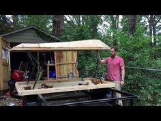 My DIY Rooftop Tent - YouTube