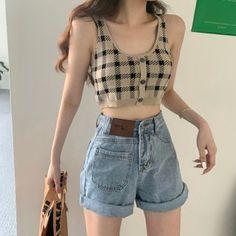 Korean Outfit Street Styles, Korean Fashion Dress, Ulzzang Fashion, Kpop Fashion Outfits, Korea Fashion, Edgy Outfits, Korean Outfits, Mode Outfits, Cute Casual Outfits