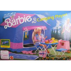 Vintage Barbie Camping Playset. $25.00, via Etsy.  This was the best gift ever.
