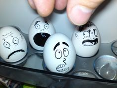 Egg With Funny Face On The Egg Cup Stock Photo, Funny Videos, Funny Flash, Funny Pictures ...