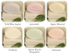 SIGNATURE SPA: Single Bar Personalized : Personalized Gifts - Preppy Monogrammed Gifts @ 2PreppyGirls.com