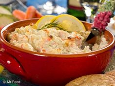 Dilly Crab Dip - The appetizer that'll be gone in a flash!