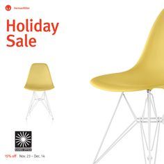 #shellspotting @hermanmiller The Herman Miller Holiday Sale   Herman Miller Sale 15% off + free standard shipping on everything storewide through Dec 14 http://shop.eamesoffice.com is extending the love nearly storewide. Code: #EamesCheer  Iconic design rarely comes this easy. Shop for award winning office chairs and timeless designs from Eames, Nelson, and Girard. Select products are in stock with expedited shipping available.