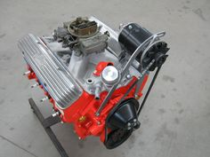 Jitney HOP-UP Parts by Jake generator bracket. ($67.95) 65 Ford Falcon