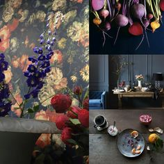 My color trend presentation for Global Color Research | DUSKY BERRY | Part I |