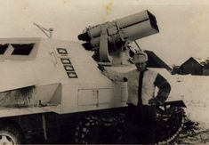 Depends on the markings this Panzerwerfer destroyed four enemy tanks!