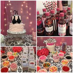 21st birthday party for @Anna Schwark   Beautiful cake!  Candy bar!  So much fun!