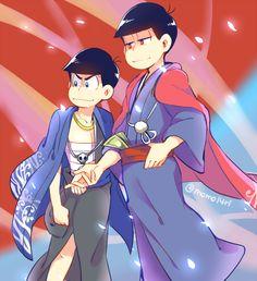 Osomatsu-san Osomatsu & Karamatsu #Anime「♡」Mafia AU