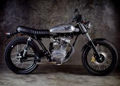 Modifikasi Honda CB 100 Jap Style