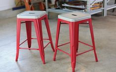 possibly paint my metal barstools?