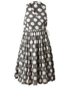 Polka Dot Wrap Dress....want this dress!!