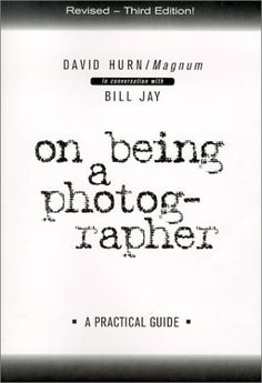 On Being a Photographer: a Practical Guide by David Hurn, http://www.amazon.co.uk/dp/1888803061/ref=cm_sw_r_pi_dp_vPC1qb1Z90T1Q