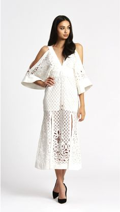 alice McCALL Break My Love Dress White