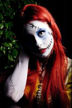 Traci Hines [as Sally] (Cosplay by TraciHinesMusic @Facebook) #TheNightmareBeforeChristmas