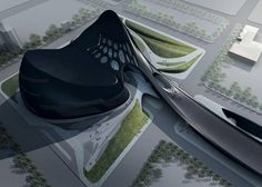 Taichung Metropolitan Opera House by Zaha Hadid Architects  © Zaha Hadid Architects  Click the picture for more!