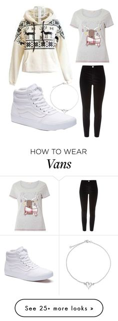 """""""Cold, Cold Christmas"""" by kostamate on Polyvore featuring Dorothy Perkins, River Island, Vans and Bling Jewelry"""