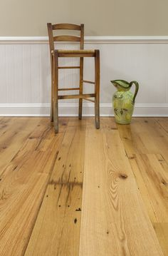View reclaimed wide plank oak flooring as well as regular wide plank for red and white oak. Reclaimed varieties of oak bring warmth and character to any space. Reclaimed Oak, White Oak Wide Plank, Plank Flooring, Red And White