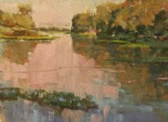 Slough Reflections,  12 x 16