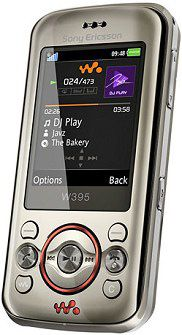 Sony Ericsson W395 Mobile Pictures Photos Images