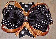 Custom Mizzou Hair Bow!