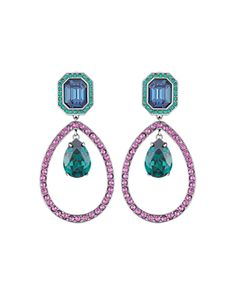 a17897e97f12 Atelier Swarovski by Tabitha Simmons Statement Drop Earrings Jewelry    Accessories - Bloomingdale s