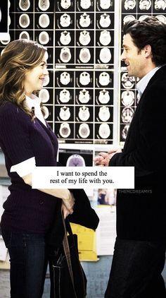 Meredith Grey and Derek Shepherd Grey's Anatomy lockscreen